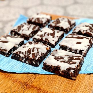 super duper chocolate cookie bars