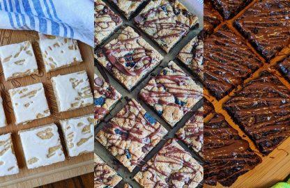 3 pack each flavor cookie bar