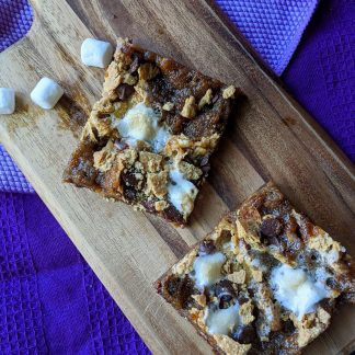 loaded smores bars
