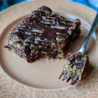 oatmeal cranberry chocolate chip vegan cookie bars