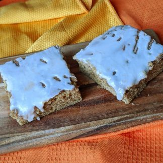 pumpkin spice bars vegan