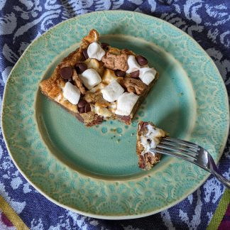 vegan smores cookie bars