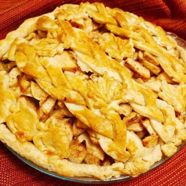 Best Apple Pie Thanksgiving Friendsgiving Vegan Gluten Free Virginia