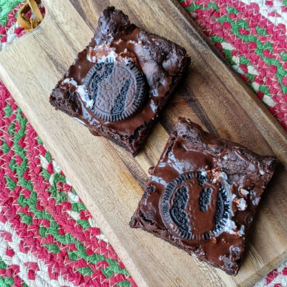 gluten-free chocolate mint candy cane cookies